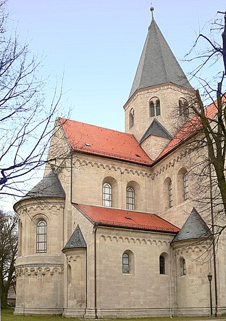 Lothair II, Holy Roman Emperor - Burial place of Lothair II: Kaiserdom in Königslutter, founded by the emperor in 1135
