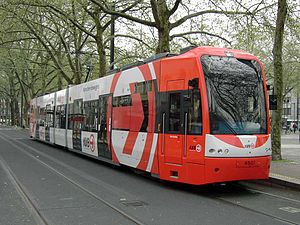 Trams in Germany - Tram in Cologne
