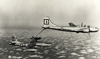 322d Expeditionary Reconnaissance Squadron - Squadron RB-45C refueling from a KB-29P