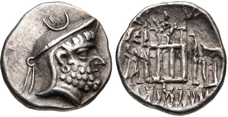 KINGS of PERSIS. Dārēv (Darios) I. 2nd century BC