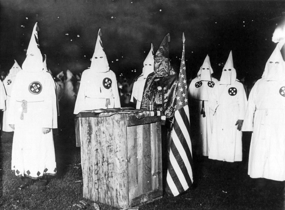 KKK night rally in Chicago c1920 cph.3b12355