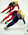 KOCIS Korea ShortTrack Ladies 3000m Gold Sochi 08 (12629371095).jpg