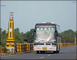 Karnataka State Road Transport Corporation - Corona Ambaari.