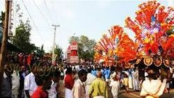Kadakkal Thiruvathira - A well-known festival ritual