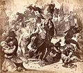 Kaiser Karl IV. stellt zu Nürnberg die Herrschaft der Geschlechter wieder her und gestattet das Schönbartlaufen 1350.jpg