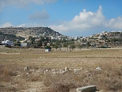 View of the Turkish Cypriot village of Galinoporni/Kaleburnu in 2016