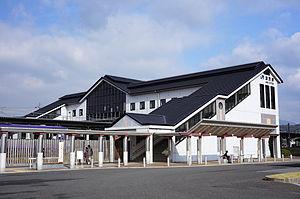 Kamo Station (Kyoto) - Kamo Station—November 2012