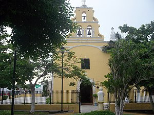 Kanasín Municipality - Principal Church of Kanasín, Yucatán