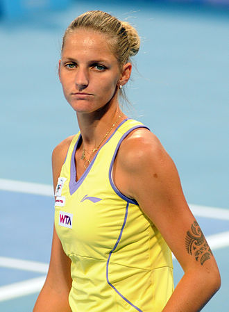 Karolína Plíšková - Plíšková at the 2014 China Open