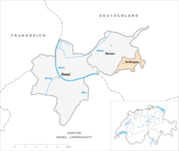 Bettingen – Mappa
