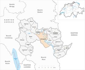 Map of Bremgarten