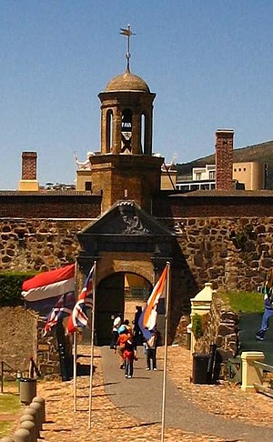 Culture of South Africa - Castle of Good Hope, the oldest building in South Africa