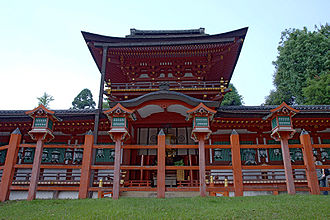 Kasuga-taisha - The middle gate and hall