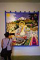 "Katharina von Arx exhibit ""'Historias de ciudades"" in the Museo Textil de Oaxaca (2).jpg"