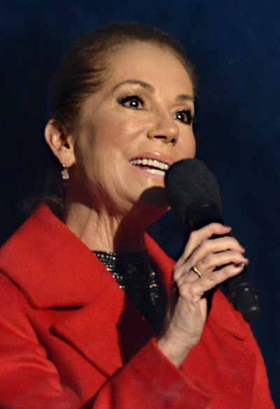 Kathie Lee Gifford, American actress and talk show host