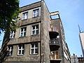 Katowice, Budynek będący pozostałością skrzydła mieszkalnego Muzeum Śląskiego ul. St. Kobylińskiego 5 01.JPG