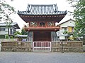 Kawagoe Kitain temple belfry gate.jpg