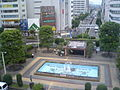 Kawagoe Station west forecourt 20070624.JPG