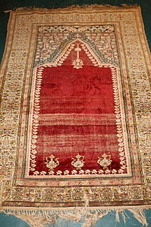 Kayseri Prayer Rug From Anatolia Turkey