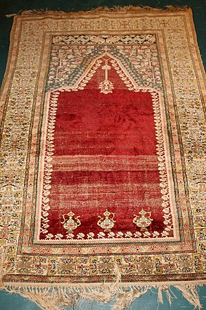 Kayseri prayer rug, Anatolia Turkey