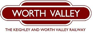 Keighley and Worth Valley Railway - Image: Keighley and Worth Valley Logo