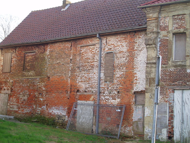 Kerkplein 40 Ninove achterzijde