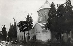Khojivank Holy Mother of God Armenian Church in Armenian Pantheon.jpg