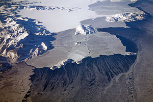 Labrador - Icy Labrador coast and Kiglapait Mountains on the north coast of Labrador