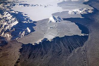 Labrador - Icy Labrador coast and Kiglapait Mountains on the north coast of Labrador