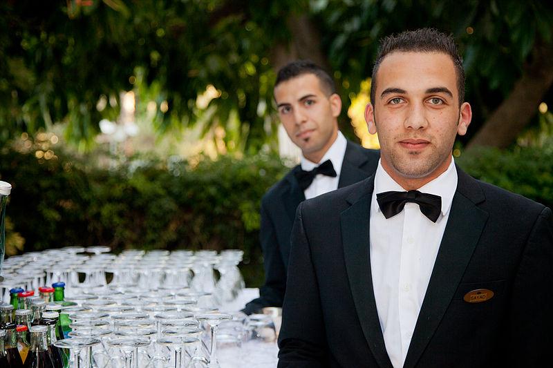 File:King David Hotel Waiters.jpg