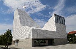 Pfarrkirche Seliger Pater Rupert Mayer, Poing; Architekt: Andreas Meck