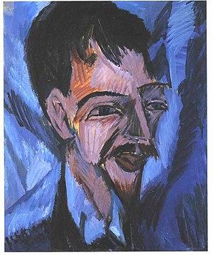 Alfred Döblin - Ernst Ludwig Kirchner's portrait of Alfred Döblin