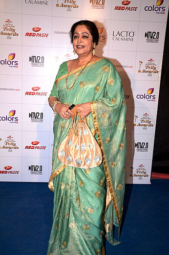 Kirron Kher - Image: Kiron kher colors indian telly awards