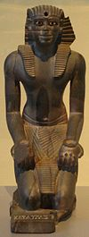 Kneeling statue of Pepy I