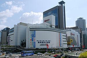 Kobe-Sannomiya Station - Image: Kobe Sogo 01n 3200