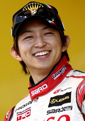 Kohei Hirate - Hirate at the 2010 Fuji 400km Super GT race.