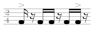 Coladeira - Image: Koladera rhythm