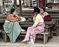 Korean Folk Village-Women in hanbok-03.jpg