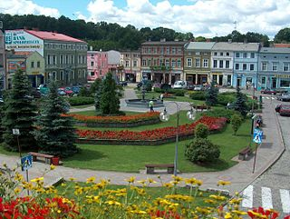 Koronowo Place in Kuyavian-Pomeranian Voivodeship, Poland