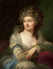 Portret Józefiny Amalii z Mniszchów Potockiej