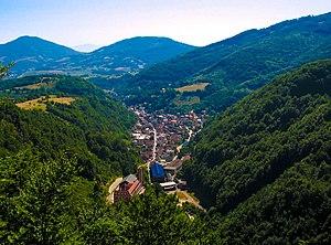 Kreševo - Town of Kreševo panorama