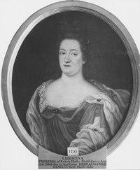 Kristina, 1656-1698, prinsessa av Sachsen-Weisenfels, hertiginna av Holstein-Gottorp - Nationalmuseum - 15923.tif