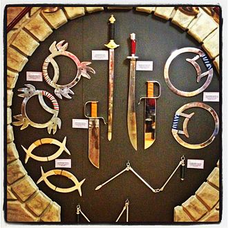 Martial Arts History Museum - Kung Fu Weaponry at the Martial Arts History Museum