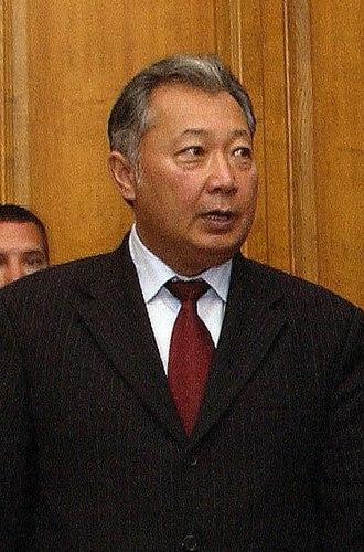 Kurmanbek Bakiyev - Image: Kurmanbek Bakiyev