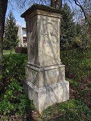 Podstavec sochy svaté Barbory