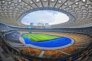 The «Olimpijskyj» in May 2012