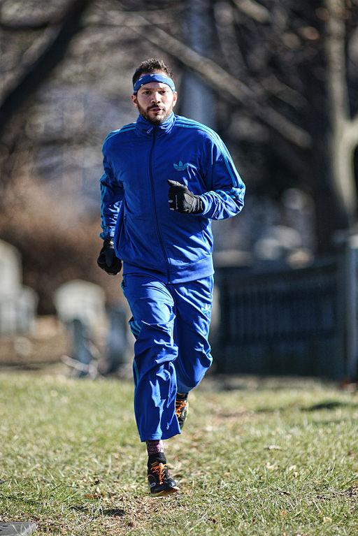 Person Wearing Reebok Men S Print Run Smooth Ultk Running Shoe