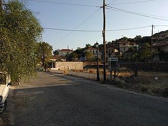 Kypseli, Methana - The village Kypseli