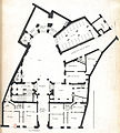 L'Architecture française (Marot) BnF RES-V-371 043r-f93 Hôtel de Beauvais, Plan du rez-de-chaussée (adjusted).jpg