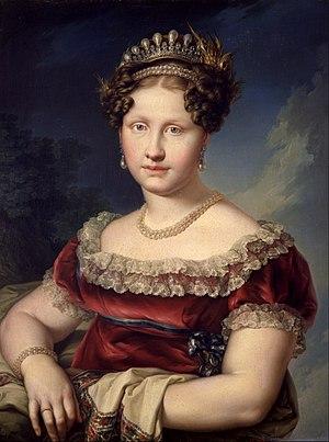Princess Luisa Carlotta of Naples and Sicily - Image: López Portaña, Vicente Princess Luisa Carlota de Borbón Dos Sicilias Google Art Project